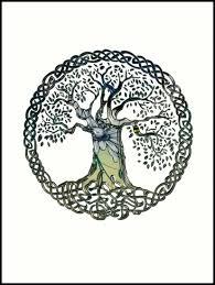 celtic knots tree of prints by butterflyscream