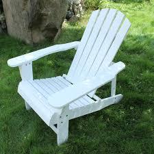 chaise adirondack en plein air folidng bois chaise adirondack 2 couleurs blanc