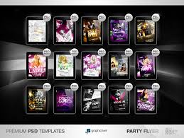 free halloween party flyer 20 party flyer psd images photoshop psd birthday party
