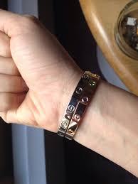 love bracelet rose gold images Cartier love bracelet discussion page 638 purseforum