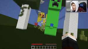 The Dropper Map Tdm The Diamond Minecart Dantdm Minecraft A Creepers