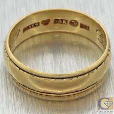 antique wedding band ebay