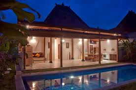 joglo combined with modern style villa in bali http www xpbali