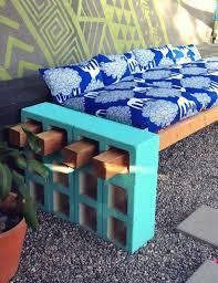 diy backyard design ideas decor tips also outdoor brick bench 2017