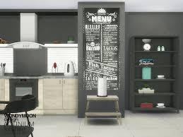 Kitchen Sets Actinium Kitchen Accessories Found In Tsr Category U0027sims 4 Kitchen