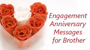 1st Anniversary Wishes Messages For Wife Brother Engagement Anniversary Message Jpg