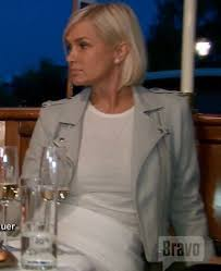 yolanda fosters hair yolanda foster s light grey leather moto jacket big blonde hair