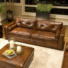 st george club leather sofa shown seater chesterfield in fudge by
