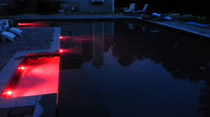 pentair vs hayward pool lights pentair globrite multi color leds in nh in ground pool youtube