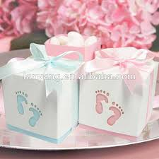 baby shower decorations baby feet candy gift box baby shower favor