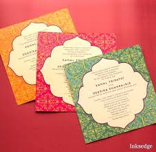 contemporary indian wedding invitations modern indian wedding