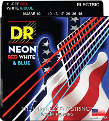 Medium Light Guitar Strings by Dr Strings Coated Nickel Electric Guitar Strings Medium 10 46