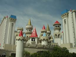 transport yourself to the middle ages at the excalibur hotel