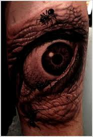 blowing eyeball tattoos that you need to see