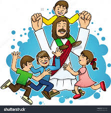 jesus clipart jesus and children clipart pencil and in color