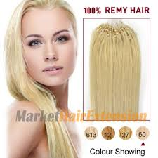 hair extension canada 18 white 60 50s micro loop human hair extensions only