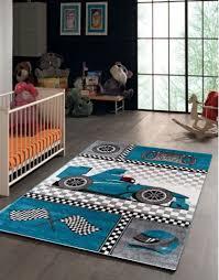 tapis rond chambre tapis pour chambre de garçon blue et gris speed voiture f1 speed