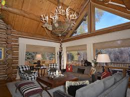 romantic 7 bedroom log home on the river homeaway aspen