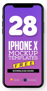 free iphone x mockup templates 28 mock ups freebies graphic