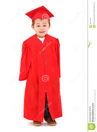 cap and gown for preschool preschool graduate in cap and gown stock photo image of daycare