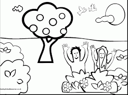 outstanding adam and eve family coloring page with adam and eve