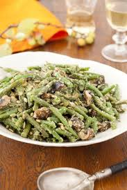 clean green bean casserole from scratch