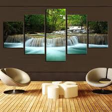 home interiors and gifts framed living room canvas wall no waterfall painting canvas wall