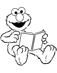 stinky elmo holds nose coloring u0026 coloring pages