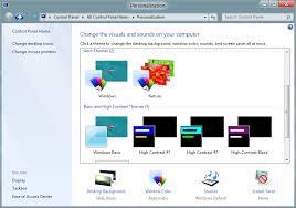 theme bureau windows comment personnaliser votre thème de bureau dans windows 8