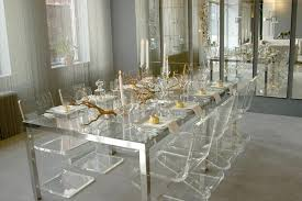 Clear Dining Room Table Best Clear Dining Room Table On Furniture With Square Clear Glass