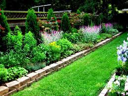Garden Beds Design Ideas Narrow Flower Bed Design Ideas Pinteres