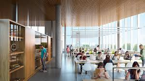 Temple Room Designs - snøhetta reveals new images of temple university library