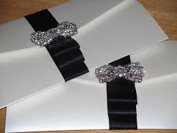 grand crystal pocketfolds black crystal couture luxury wedding