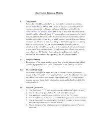 phd thesis proposal outline