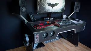 Gaming Desk Plans Amazing Computer Gaming Desk Regarding 20 Top Diy Plans That