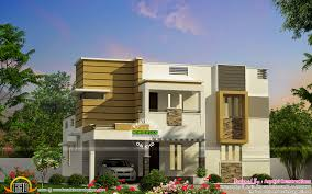 modern style 3 bhk home kerala home design and floor plans