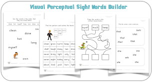 Visual Discrimination Worksheets Visual Learning For Life Purchase Cd U0027s And Worksheets Downloads