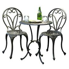 White Cast Iron Patio Furniture Wrought Iron Bistro Set U2013 Mobiledave Me