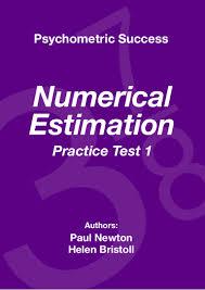 psychometric success numerical ability estimation practice test 1