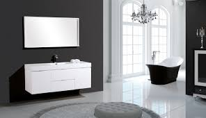 Modern Bathroom Vanity Sets by Wade Logan Tenafly 60