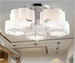 Round Fluorescent Light Fixture High Quality Ceiling Lamp Cover Indoor Round Acrylic Light