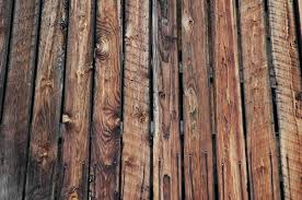 rustic wood wooden fence