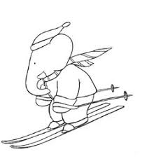 babar lots cute babar coloring pages link coloring