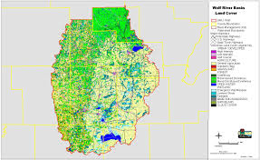 Wisconsin State Map by Wolf River Basin Wisconsin Dnr