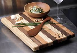 wedding cutting board large wooden salad bowl wedding gift nh bowl and board new