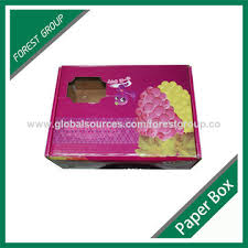 china tissue paper box single wall corrugated board with custom