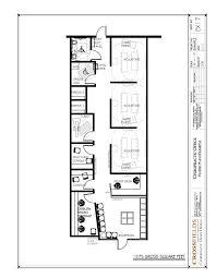 Office Floor Plans Chiropractic Office Floor Plan Semi Open Adjusting 1575 Gross Sq