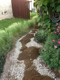 attractive gravel backyard designs together with gravel backyard
