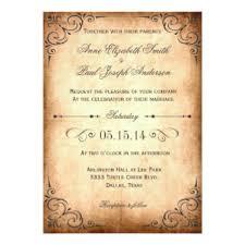 vintage wedding invites vintage paper invitations announcements zazzle
