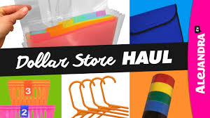 Home Organization Products by Dollar Store Haul Organization Products Youtube